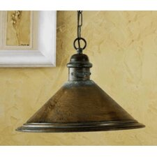 Rustik American Coop 1 Light Foyer Pendant