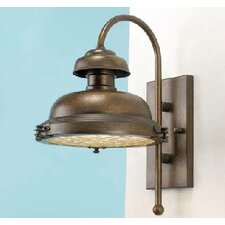 <strong>Lustrarte Lighting</strong> Escotilha 1 Light Outdoor Wall Lantern