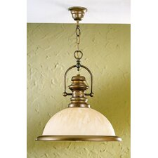 Rustik Marble 1 Light Pendant