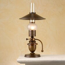 "Rustik Velha 19.69"" Table Lamp with Empire Shade"