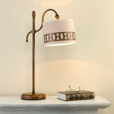 "Modern 22.83"" H Table Lamp with Drum Shade"