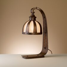 "Rustik Armada 19.75"" H Table Lamp with Bowl Shade"