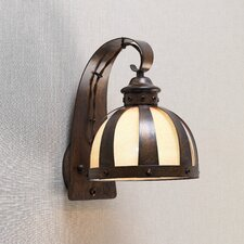 <strong>Lustrarte Lighting</strong> Rustik Armada 1 Light Wall Sconce