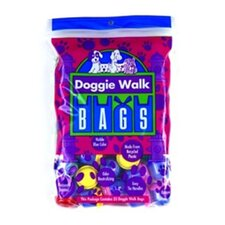 <strong>Doggie Walk Bags</strong> Baby Powder Dog Classic Waste Bag in Blue