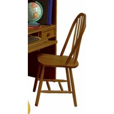 <strong>Bolton Furniture</strong> Mission Traditional Bow Back Desk Chair