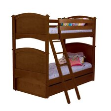 Cottage Twin over Twin Bunk Bed with Storage
