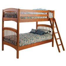 Windsor Twin over Twin Bunk Bed with Storage