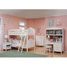 <strong>Bolton Furniture</strong> Lyndon Twin over Twin Bunk Bed with Storage