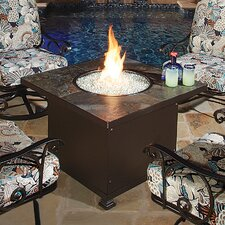 Casual Fireside Santorini Chat Height Fire Pit