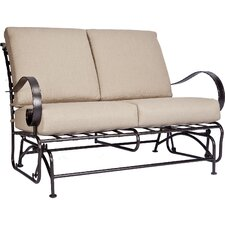Classico-W Glider Loveseat with Cushions