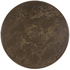 "Casual Fireside 27"" Round Cocoa Beach Lazy Susan with Stand"