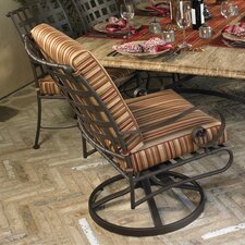 Classico Swivel Rocking Dining Arm Chair with Cushion