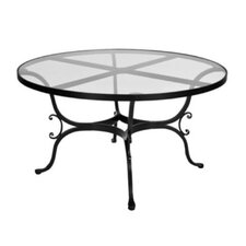 "<strong>OW Lee</strong> Ashbury 54"" Round Glass Dining Table"