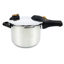 6.2-Quart Stainless Steel Pressure Cooker