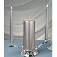 Elegant Unity Pillar Candles (Set of 3)