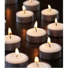 Unscented Tealight Candles (Set of 120)