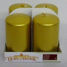 <strong>Light In the Dark</strong> Unscented Pillar Candle (Set of 4)