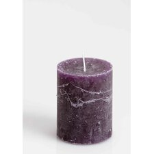 Rustic Unscented Pillar Candle