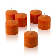 <strong>Light In the Dark</strong> Orange Mandarin Scented Votive Candles (Set of 36)