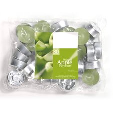 Apple Scented Tea light Candles (Set of 30)