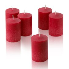 Red Strawberry Scented Votive Candles (Set of 36)