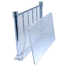 Universal Floor Magazine Rack