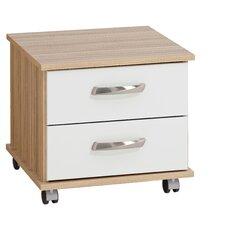 Regal 2 Drawer Bedside Table