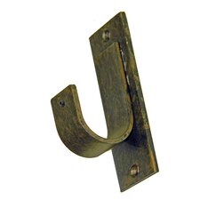 "Casa Outdoor Outside Mount ""J"" Cup Curtain Bracket"
