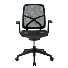 <strong>At The Office</strong> 9 Series Active-Back Mesh Office Task Chair with Arms