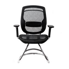 One Series Mesh Guest Office Chair with T-Armrests