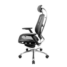 One Series High-Back Mesh Office Chair with Pivot Armrests