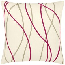 <strong>Judy Ross Textiles</strong> Streamers Wool Pillow