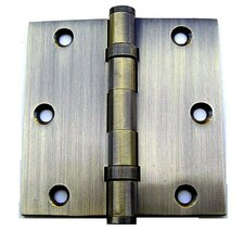 "3.5"" H x 3.5"" W Ball Bearing Door Hinge"