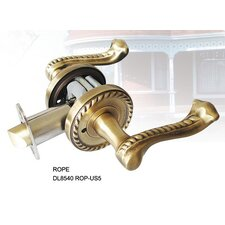 Rope Decorative Privacy Interior Lever