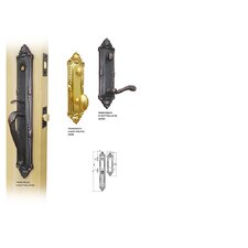 "Franchesca 2.75"" Keyed Entry Tubular Handle Set"