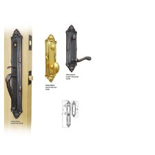 "<strong>Double Hill USA</strong> Franchesca 2.38"" Keyed Entry Tubular Handle Set"