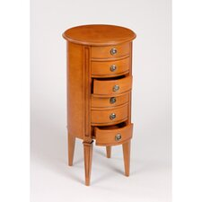 Gloucester 6 Drawer Round Cabinet