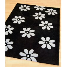 Daisi Black Tufted Rug