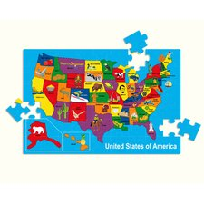 <strong>edushape</strong> USA Map Puzzle
