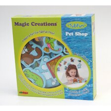 Magic Creations Pet Shop Bath Set