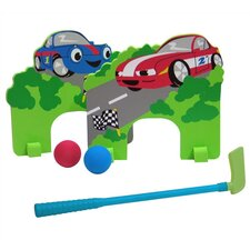 Racing Cars Mini Golf Set