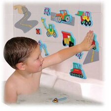 <strong>edushape</strong> Magic Creations Road Construction Bath Set