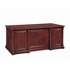 Birmingham Executive Desk with Center Drawer