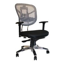 Mesh Arm Chair with Adjustable Armrest