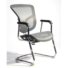 Mesh Arm Chair with Adjustable Lumbar Support