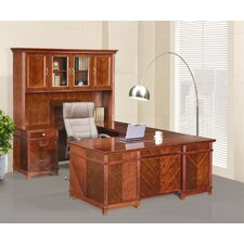 Cambridge U-Shaped Executive Desk with Return