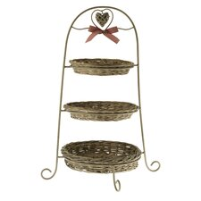 47cm Cake Stand in Grey
