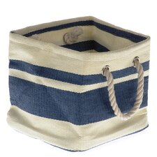 Tobs Soft Storage New England Medium Square Bag in Blue