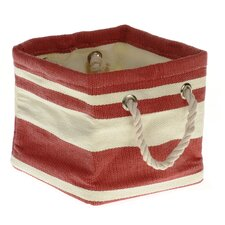 Tobs Soft Storage New England Medium Square Bag in Red