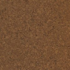 "Modoc 12"" Engineered Cork Planks Flooring in Dark Sienna"